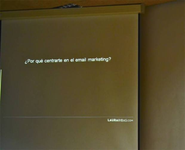 Laura Rivas talked about SEO in the V IDay Alicante