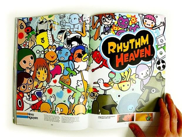 Strength, rhythm and balance editorial design