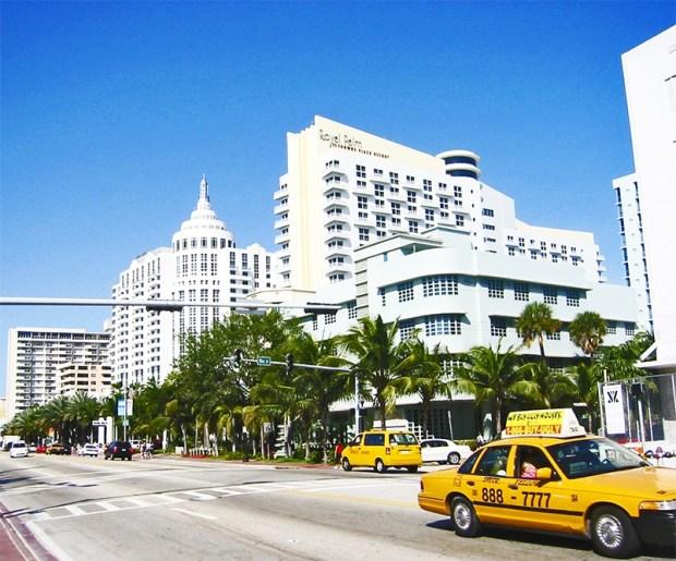 Architectural decoration in Miami Beach