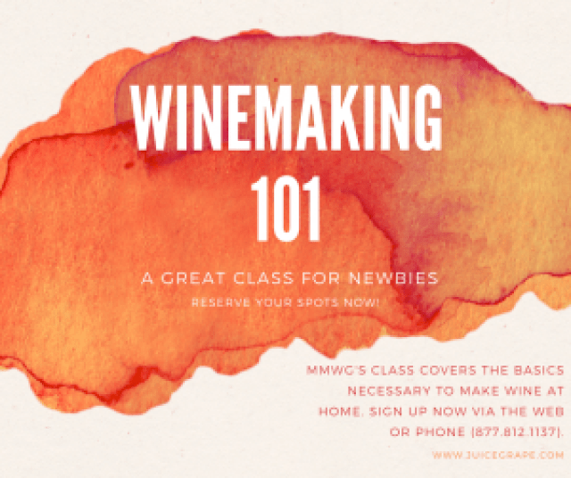 winemaking 101