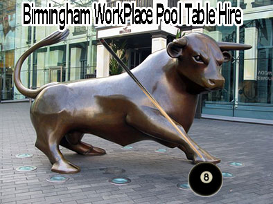 Bullring-bull-pool-table-workplace-office-birmingham-hire