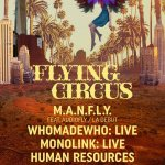 Flying Circus LA lineup poster