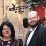 Amy Lame and Hackney mayor Phil Glanville. Photo by Uyen Luu   night mayors
