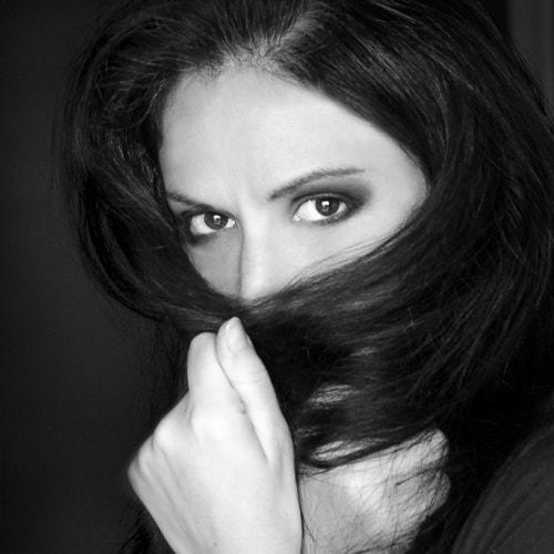 Julia Anna Gospodarou - Self -portrait