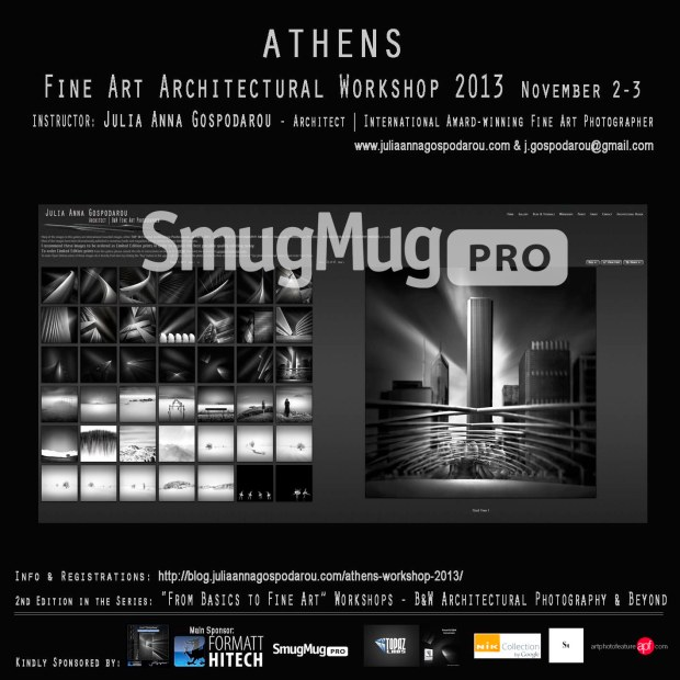 Athens Fine Art Architectural Workshop 2013 - Sponsor Spotlight - SmugMug