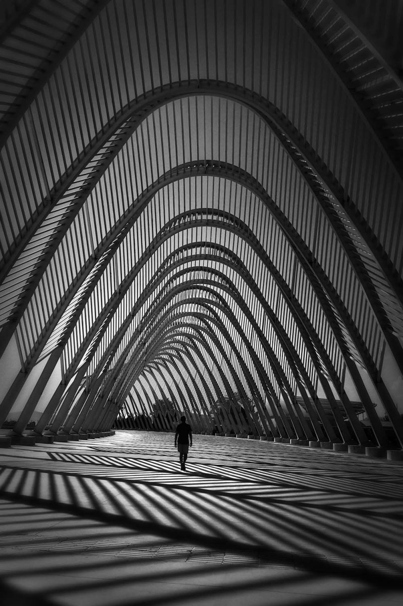 Waves of Imagination - Calatrava Agora, Athens Olympic Center © Julia Anna Gospodarou