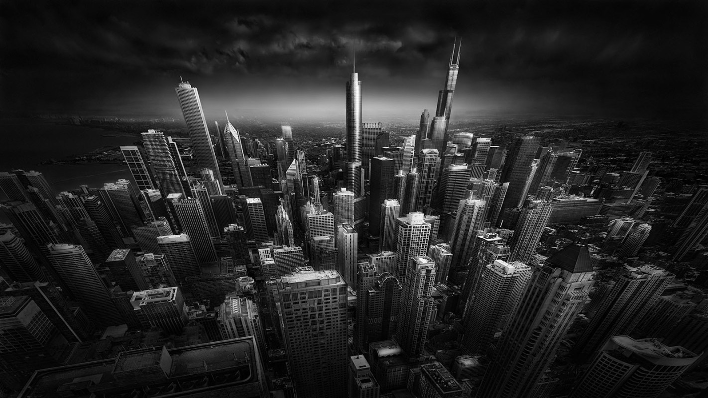 Rooftop Stories - Chicago Skyline © Julia Anna Gospodarou