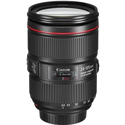 Canon EF 24-105mm f/4L IS II USM zoom lens