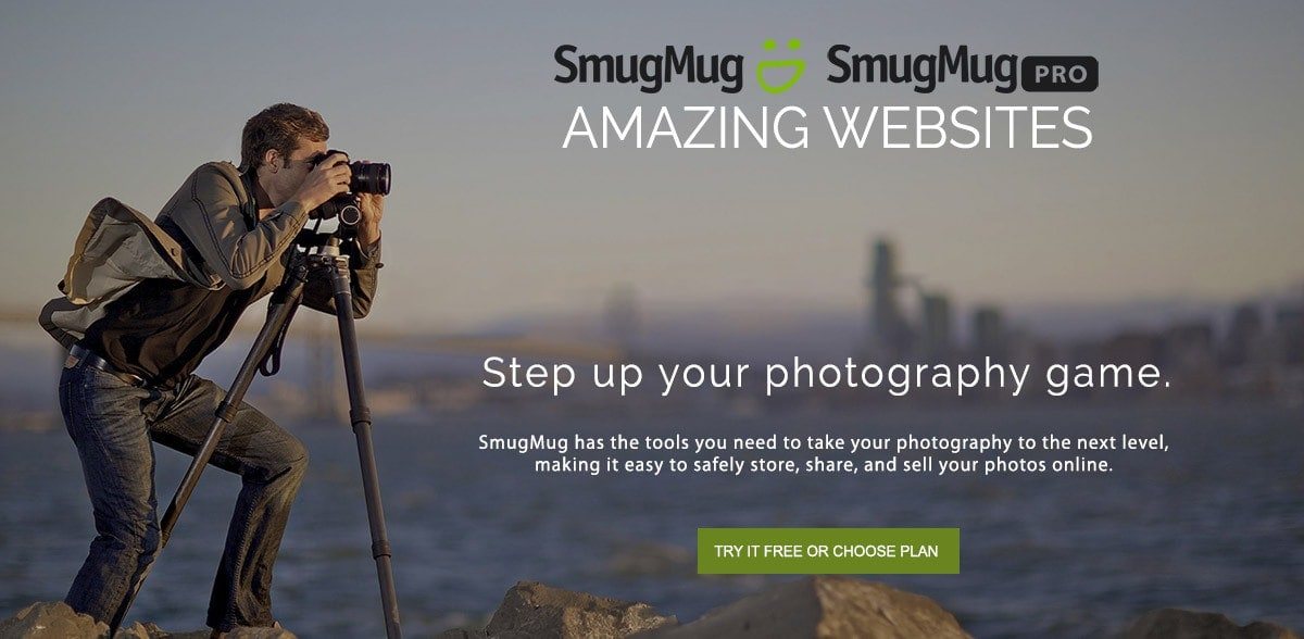 Smugmug photography websites for beginners, enthusiasts and pros