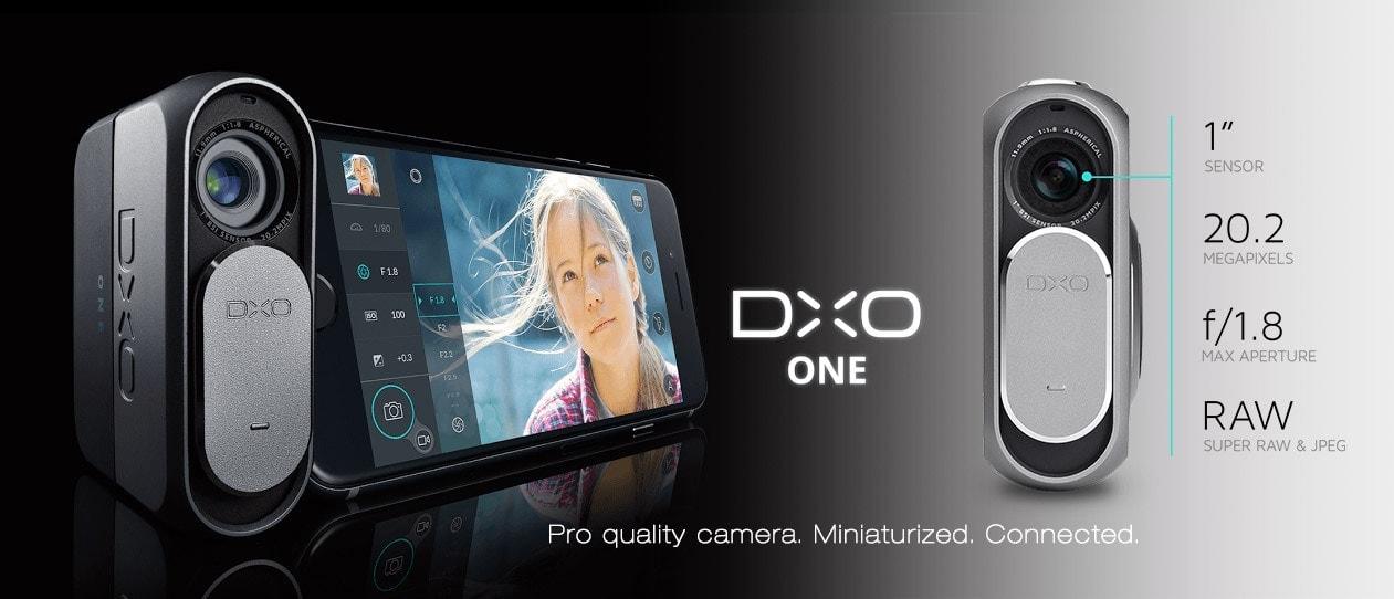 "dxo one camera for iphone. 1"" Sensor 20.2 MP RAW/JPEG f/1.8 32mm"
