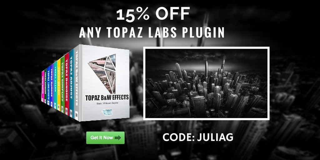 Topaz Labs Plugins Discount 15% OFF - Single plugins or the complete collection
