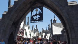 L'entrée de The Wizarding World of Harry Potter