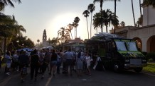 Le Foodtruck Friday à Balboa Park
