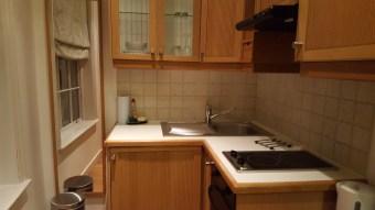 La kitchenette, ouverte sur la chambre