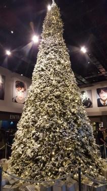 Les décorations de Noël dans le hall