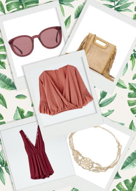 wishlist de la semaine : des looks boho pour un vestiaire d'été stylé