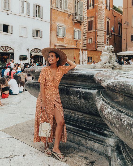 quel look pour un week-end à rome ?
