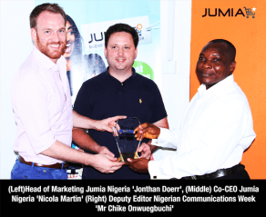 Jumia Wins Best e-commerce website of the Year BICT