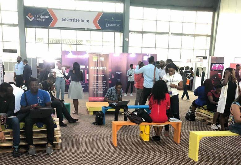 The Entrance Hall at Social Media Week Lagos