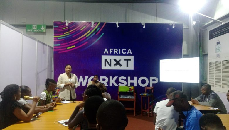An Africa NXT workshop at Lagos Social Media Week