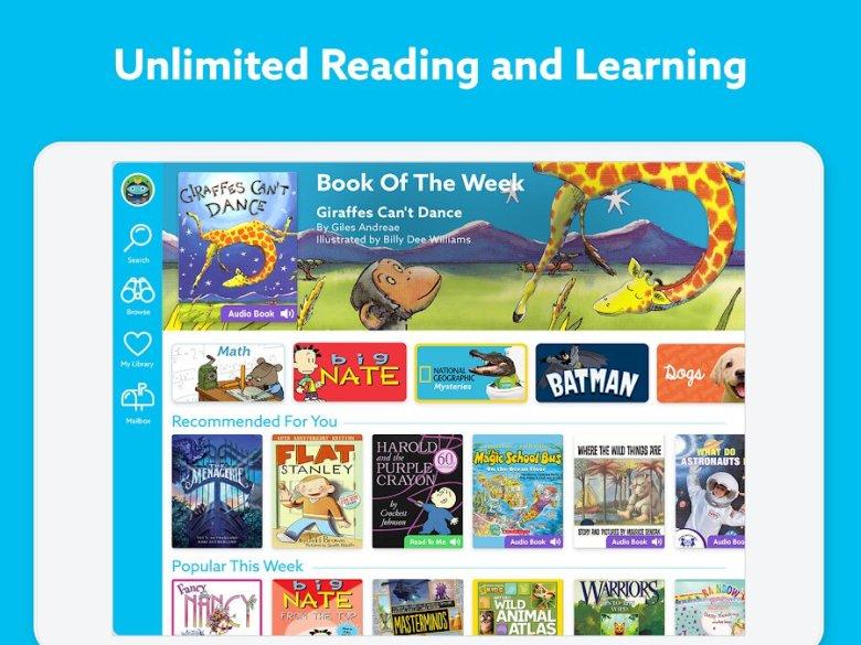 Epic! reader for kids