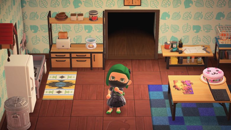 A screenshot from Animal Crossing: New Horizons