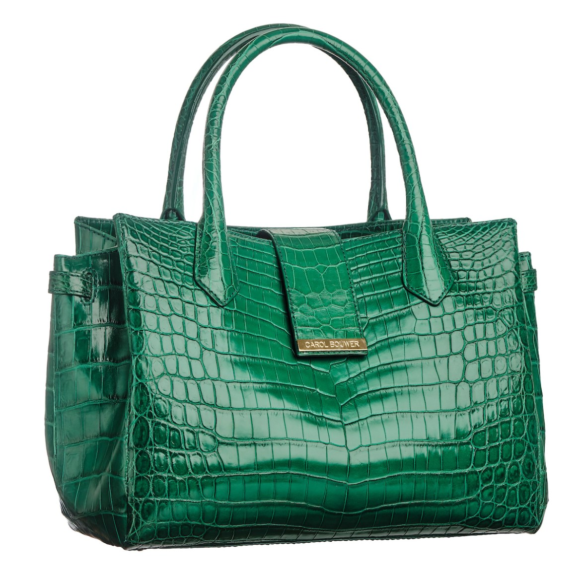 Example of a Carol Bouwer Handbag against white background