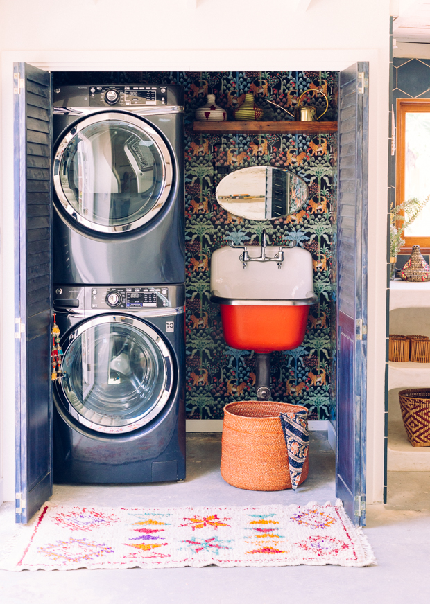 our laundry room overhaul with home