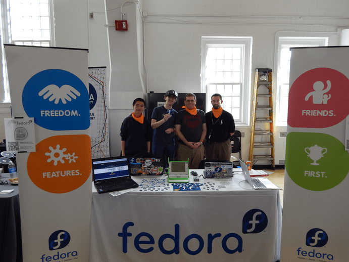Bitcamp 2016: The Fedora Ambassadors of Bitcamp 2016