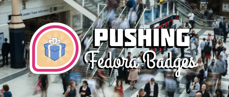Pushing new Fedora Badges with Ansible