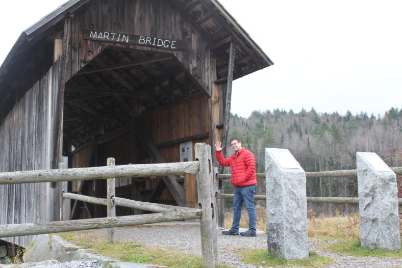 Martin Bridge may not be one of your top places to visit in Vermont, but if you keep going, you'll find a one-of-a-kind view
