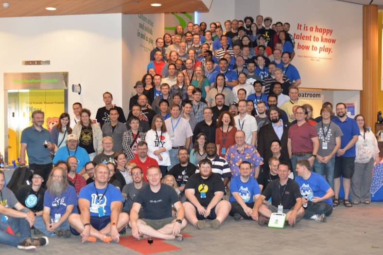 Fedora Flock 2015 at the Strong Museum of Play in Rochester, NY