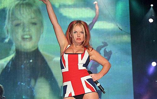 Geri Halliwell Ginger Spice