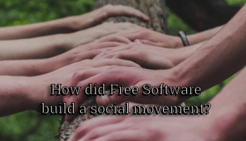How did Free Software build a social movement?