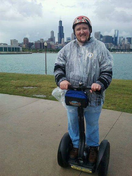 Joe on a Segway i2