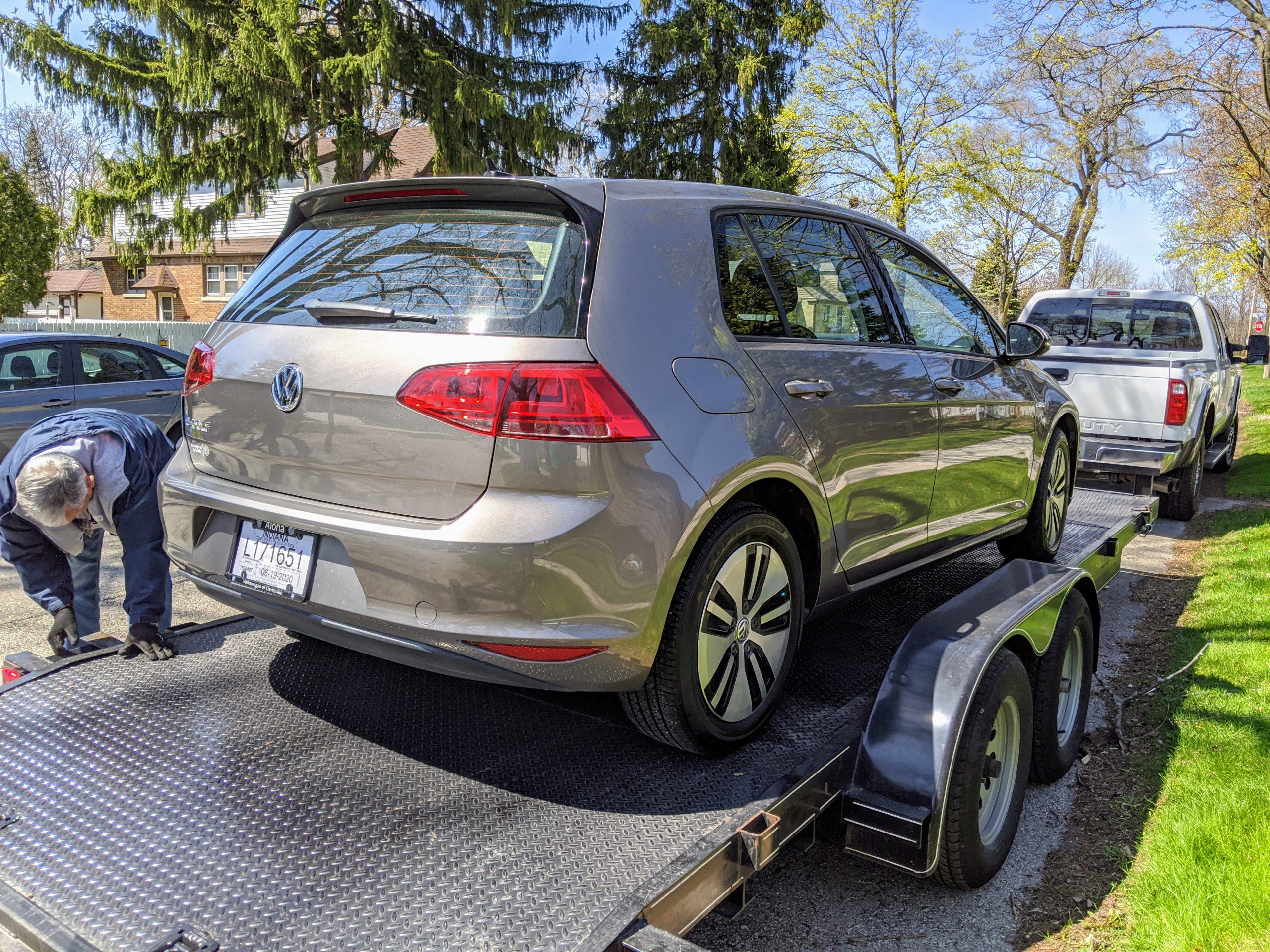 VW e-Golf Arriving