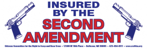 Insured by the Second Amendment logo