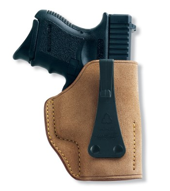 Galco USA suede pistol holster