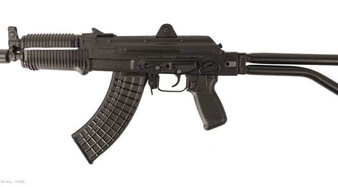 Arsenal Inc SAM7SFK 7.62x39 SBR left with stock extended