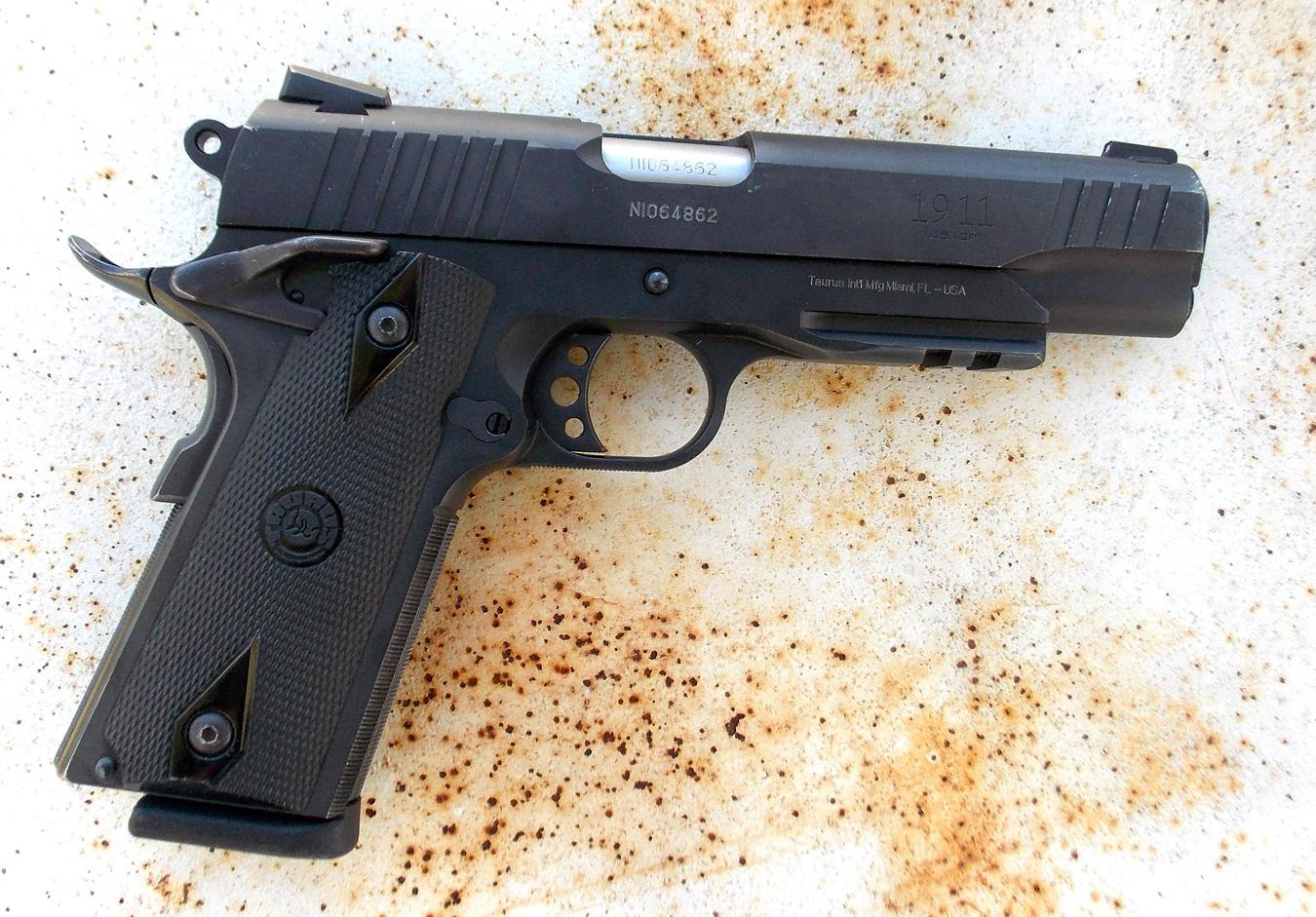 Review: Taurus PT1911 — Street-Ready Rail Gun - The K-Var Armory