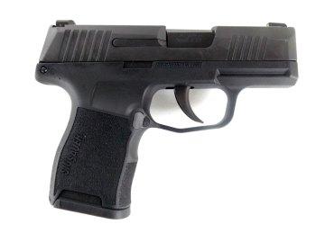 SIG Sauer P365 pistol right black profile