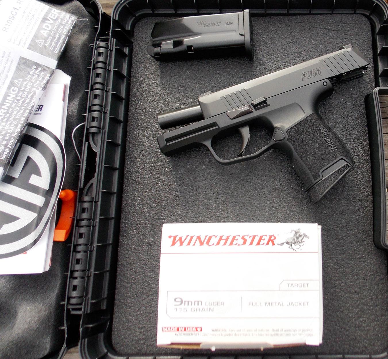 Range Review: SIG P365 — The Smashing Little 9mm - The K-Var