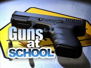 Guns at school graphic Anti Gunners