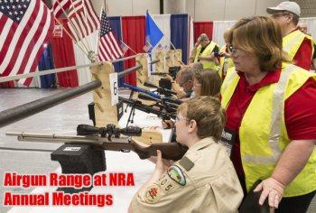 Indoor airgun range NRA 2018