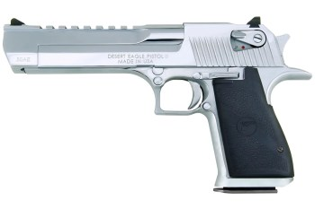 Desert Eagle pistol, left profile