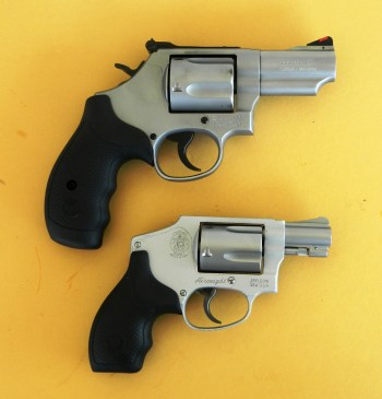 Smith and Wesson Model 69 compared to the .38 Special Model 642
