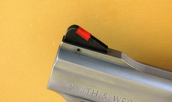 Smith and Wesson red insert front sight