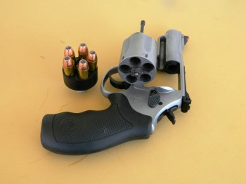 Model 69 revolver with a HK speed loader