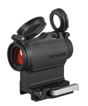 Easy on/off mount on an Aimpoint red dot