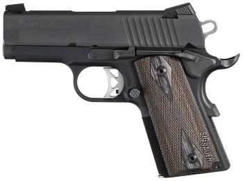 SIG Ultra handgun left profile